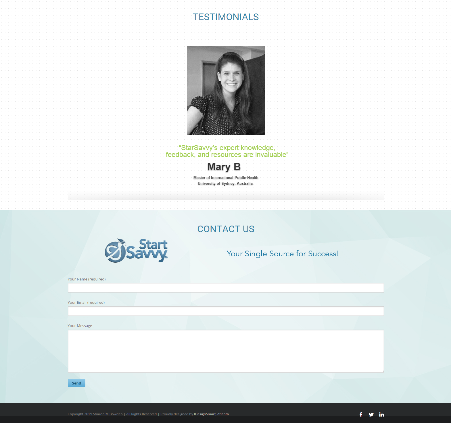 Wordpress Resume Website