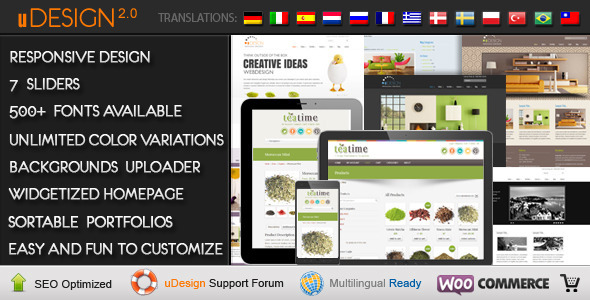 U-Design WordPress Theme Customization