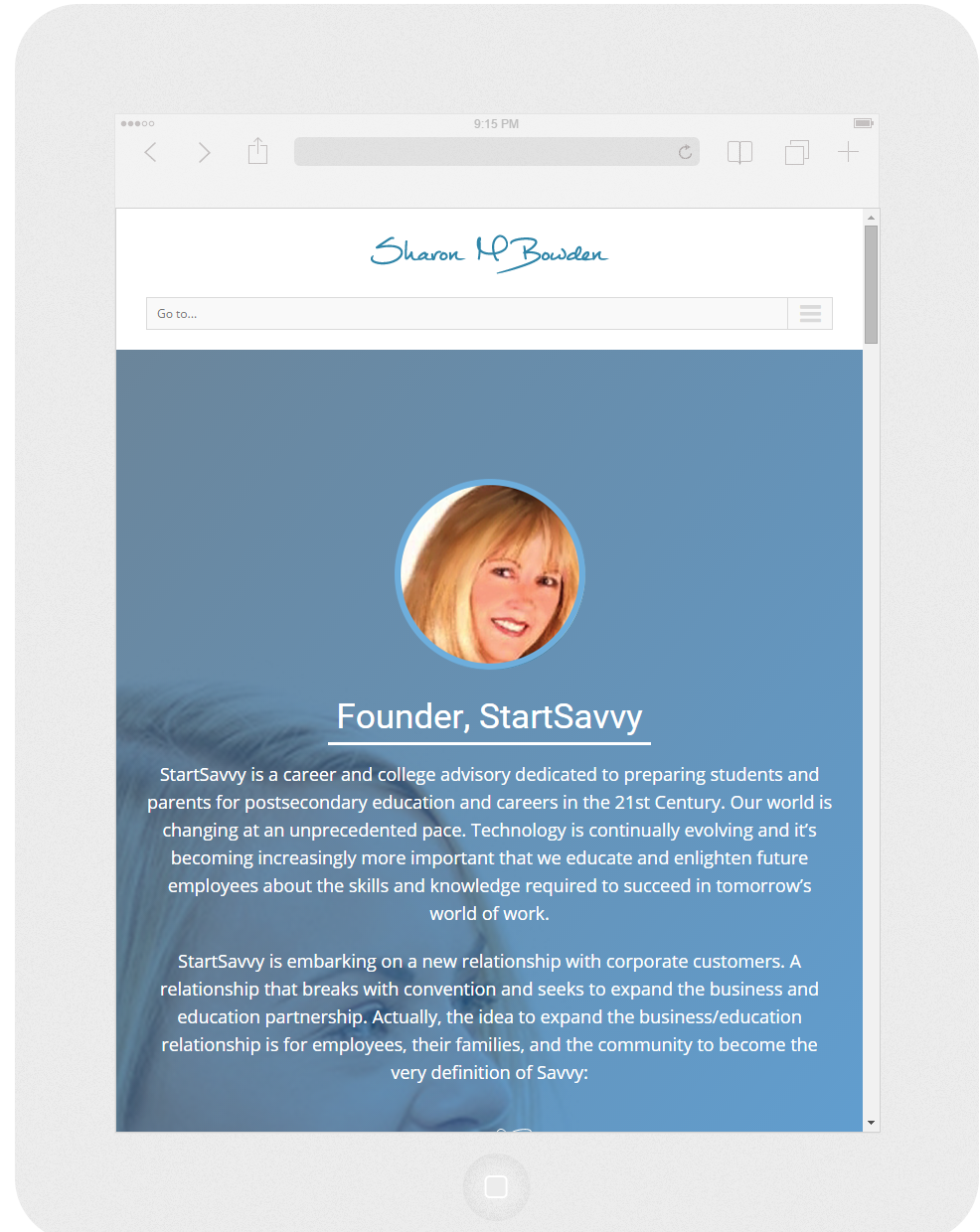 Responsive Wordpress Resume Website 4