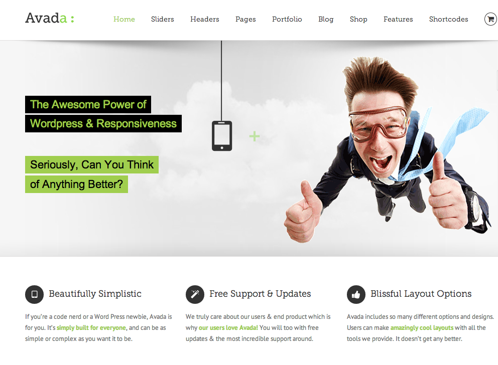 How to customize WordPress Theme Avada