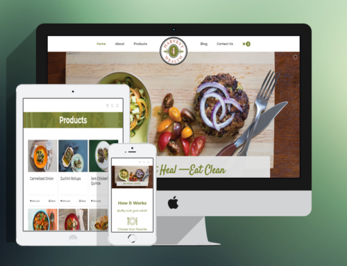 Healthy Meals ECommerce Website